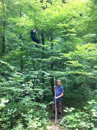 Naturspiel Kultur durch Kindergeburtstag beleben