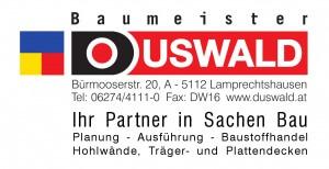 Logo DUSWALD mit Untertext